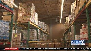 VIDEO: North Sound food bank braces for record delivery