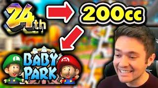 We ONLY Raced Baby Park 24-Player 200cc ONLINE