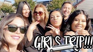 GIRLS TRIP TO NAPA! WE RENTED A LIMO!