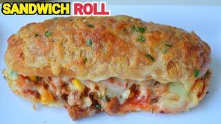 Chicken Cheese Roll Sandwich (YES I CAN COOK'S SPECIAL) First Time On YouTube #CheeseSandwich