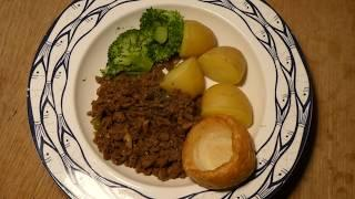 Mince With Potatoes Cottage Scone By Perth Perthshire Scotland