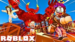 ROBLOX Flee The Facility... BUT IT'S FLOOR IS LAVA!