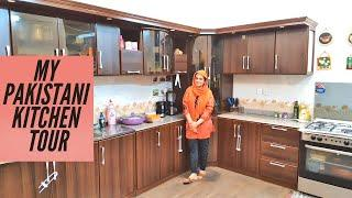 Complete Kitchen Tour of a Pakistani House Wife - Naush Kitchen Routine