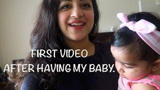 FIRST VIDEO AFTER HAVING MY BABY | LUNCH | BABY FOOD | Hanna joseph