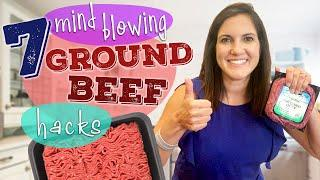 We Tried 7 Mind-Blowing Ground Beef Hacks | Fastest Way to Thaw Ground Beef and More Hacks
