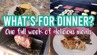 *NEW* WHAT'S FOR DINNER | ONE WEEK OF DELICIOUS MEALS | MEMORIAL DAY COOKOUT | COOK WITH ME