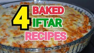 4 BAKED RECIPES (RAMADAN SPECIAL) by YES I CAN COOK