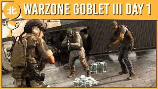 A Legendary Cursed Game | COD: Warzone (Golden Goblet: Day One...Again)