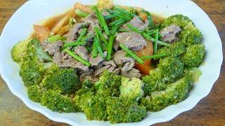 Yummy Recipe || Beef Stir fry Vegetable || Beef Cooking Recipe