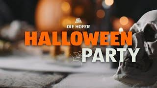 Halloween Party - HOFER Party Snacks