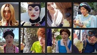 40 Disney Characters saw my baby CHICK & heard a RIDDLE at Disneyland!