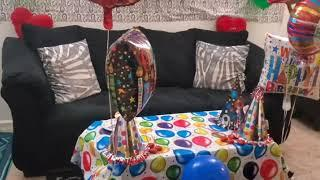 Happy Birthday Party Vlogs| Very Easy Balloon Decorations Ideas| Desi boys in USA| Birthday Decorati