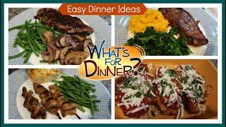 What's For Dinner? | Easy Dinners to Cook at Home