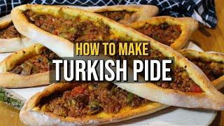 How To Make Turkish Pide (With Vegetarian Options)