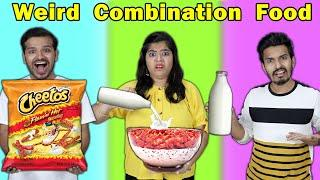 Weird Combination Food Challenge | Hungry birds