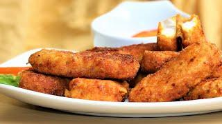 Easy Finger Foods for Parties | Healthy Fish Fingers for toddlers | Nuggets
