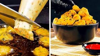TASTY APPETIZERS FOR FESTIVE TABLE || 5-Minute Recipes To Become Chef!
