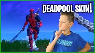 THE DEADPOOL SKIN IS EPIC!