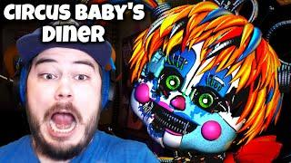 SECRET SCRAP BABY APPEARED AT MY OFFICE DOOR!! | Circus Baby's Diner (Nights 3 and 4)