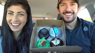 #CHEATDAY These DONUTS are FIRE!! a BABY YODA donut | Daily Vlog