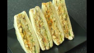 Another Hit Recipe Of SPICY CHICKEN SANDWICH / Party Sandwich/ Lunch Box Recipe *COOK WITH FAIZA*