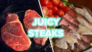 9 Juicy Gourmet Steak Recipes You Can Make At Home • Tasty