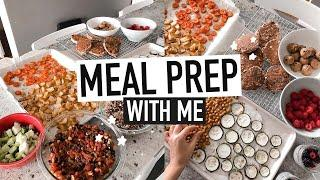 MEAL PREP WITH ME | easy & healthy veggie meals