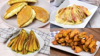 4 Easy and tasty recipes to prepare alternative side-dishes!