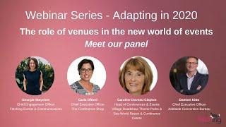 Adapting in 2020 The role of venues in the new world of events - panel discussion