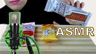 ice cream sandwich ASMR food eating sounds show | mukbang 먹방 NO TALKING Soft & Crunchy اصوات الطعام