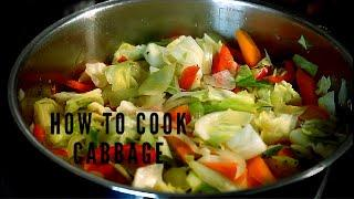 How To Cook Cabbage & To Steamed Cabbage | How To Cook Sweetheart Cabbage in Pot At Home |LUNCHTIME