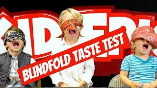 Epic Blindfold Taste Test with Van and Ty - Food Challenge with Kid Epic!!!