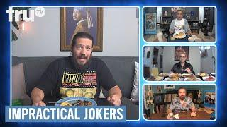 Impractical Jokers: Dinner Party - Vitamins Turned Sal's Urine to Crystals (Clip) | truTV