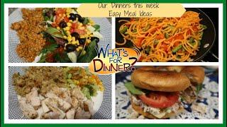 Our Dinners this week | Easy Meal Ideas to Cook at Home