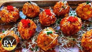 Crispy Bacon Potato Balls