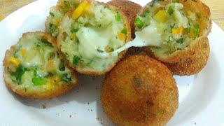 Cheese Balls Recipe / crispy Cheese Recipes/ Veg Cheese Fritters / Quick Snack fix/ Party Recipes