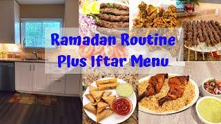 Ramadan Routine plus Iftar Menu - My Ramadan Routine with baby -Cleaning Tips and Recipes