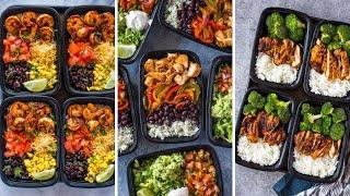 What To Eat To Gain Weight? | 8 Recipes For Weight Gain | Quick and Easy Meal Prep Ideas