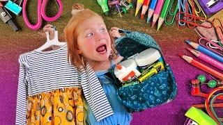 Adleys BACK TO SCHOOL Shopping Routine!! new clothes and toys for preschool!