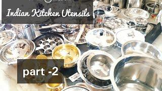 Indian Kitchen Utensils | New Cooking Vessels Collections|கல்யாண சீர்வரிசை பொருட்கள்  Part -2