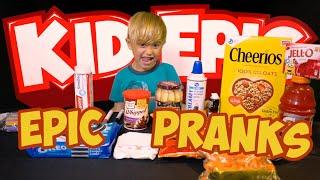 4 Epic Food Prank Ideas for Friends and Family with Kid Epic - Part 1