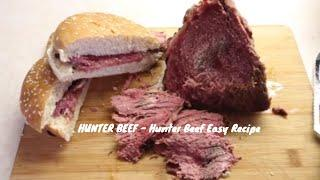 HUNTER BEEF - Hunter Beef Easy Recipe - Beef Roast - Beef Steak - Beef Recipe