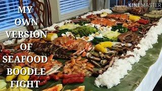 COOKING 101 : BOODLE FIGHT THANKSGIVING DINNER / PHILIPPINES MOST WELL KNOWN FAMILY GET TOGETHER