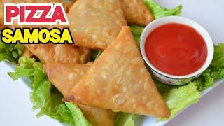 Pizza Samosa Without Cheese (RAMADAN SPECIAL) by YES I CAN COOK