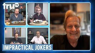 Impractical Jokers: Dinner Party - Q and Jeff Daniels Have a Weird Friendship (Clip) | truTV
