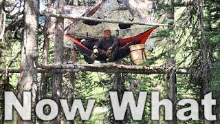 """Survival Strategy """"Do The Next Thing"""" - Day 25 of 30 Day Survival Challenge Canadian Rockies"""