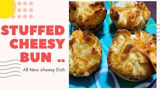 Stuffed Cheesy Bun || All New Recipe || Epic Cooking