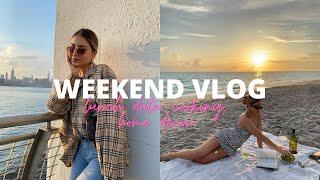 WEEKEND VLOG | Lunch date in Brooklyn, cooking detox soup, apartment decor updates + more!