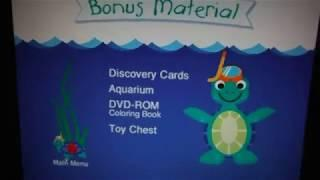 Baby Neptune Discovering Water DVD Menu (Aidan Gould archive)