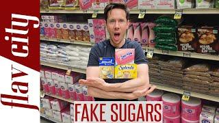 The WORST Artificial Sweeteners At The Grocery Store - Avoid These Sugar Substitutes